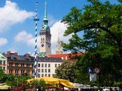 Marché aux victuailles Munich