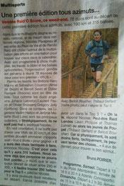 Ouest France du 15 juin 2013