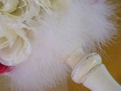 BO050 - Dettaglio piume marabou