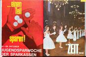 Die Zeit und wir. Magazin der Zentralsparkasse. Weltspartag 1966.