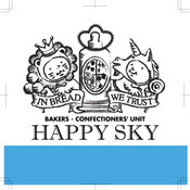 happy sky bakery logo japanese bakery