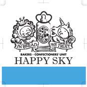 happy sky bakery logo japanese bakery