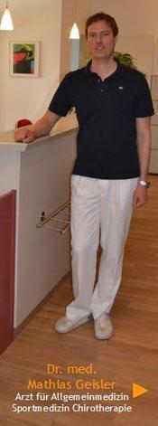 zum Lebenslauf von Dr. Mathias Geisler