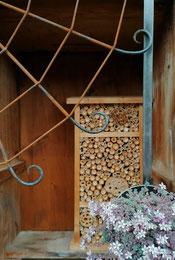 Ampelhalter Spinnennetz, handgeschmiedet, 100% Swiss Made