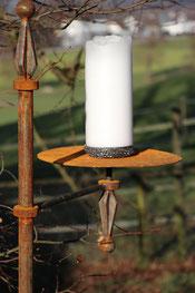 Kerzenhalter für den Garten, 100% Swiss Made
