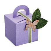 Geschenkschachtel fliederfarben