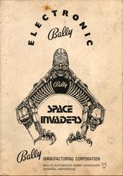 """Schaltplan """"Space Invaders"""" von Bally"""
