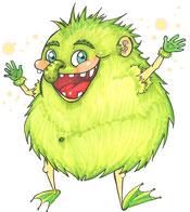 #dergnompf #lusimaerbteingeheimnis #lustigeswesen #fantasiewesen #kinderbuchillustrationen