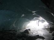 Eishöhlen Morteratsch 2009