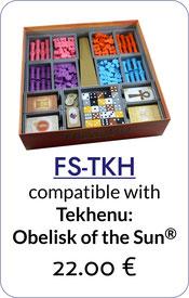 folded space insert organizer tekhenu obelisk of the sun