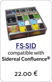 folded space insert organizer sidereal confluence