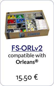 insert organizer orleans foamcore
