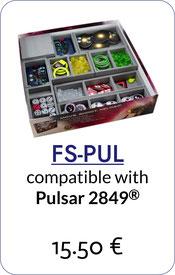 folded space insert organizer Pulsar 2849