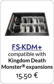folded space insert organizer kingdom death monster expansions
