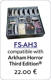 folded space insert organizer arkham horror third edition