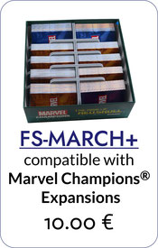 insert organizer marvel champions the card game rise of red skull foamcore