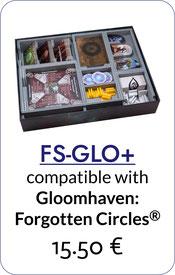 insert organizer gloomhaven forgotten circles foamcore