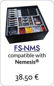 folded space insert organizer nemesis