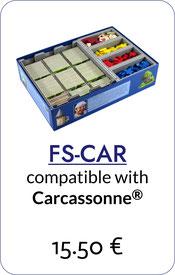 folded space insert organizer carcassonne