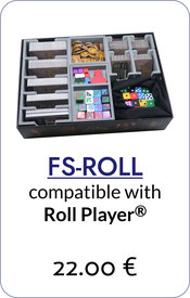 folded space insert organizer roll player monsters&minions fiends&familiars