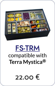 folded space insert organizer Terra Mystica