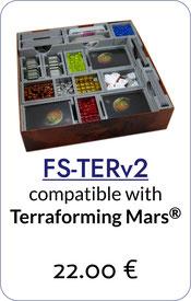 terraforming mars insert organizer foamcore