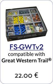 folded space insert organizer great western trail