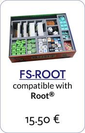 folded space insert organizer root riverfolk expansion underground expansion  exiles & partisans deck vagabond pack