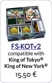 insert organizer king of tokyo foamcore