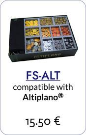 folded space insert organizer altiplano