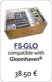 insert organizer gloomhaven foamcore