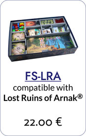 folded space insert organizer lost ruins of arnak