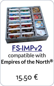 insert organizer imperial settlers empires of the north foamcore