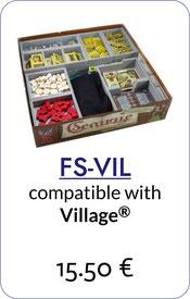 folded space insert organizer village