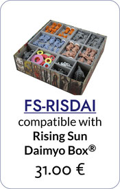 folded space insert organizer rising sun daimyo box