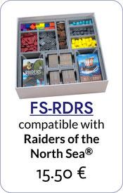 folded space insert organizer foam core raiders of the north sea