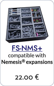 folded space insert organizer nemesis aftermath void seekers