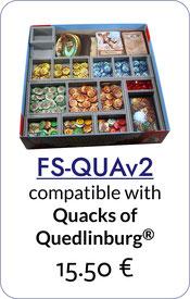 folded space insert organizer foam core quacks of quedlinburg