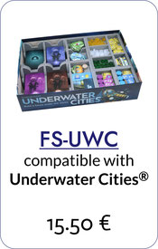 folded space insert organizer underwater cities