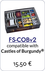 folded space insert organizer castles of burgundy