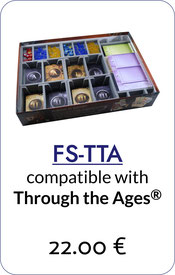 folded space insert organizer tiny through the ages a new story of civilization foam core