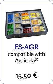 folded space insert organizer agricola