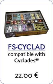 folded space insert organizer cyclades