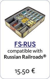 insert organizer russian railroads german foamcore