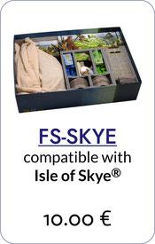folded space insert organizer Isle of Skye
