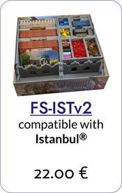 insert organizer istanbul foamcore