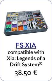folded space insert organizer xia legends of a drift system