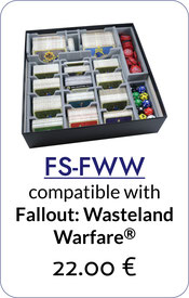 folded space insert organizer fallout wasteland warfare
