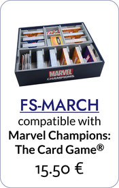 insert organizer marvel champions the card game foamcore