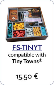 folded space insert organizer tiny towns villagers fortune tiny trees foam core